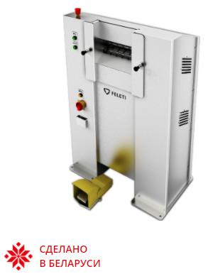 Машина для снятия копыт упрощающая обработку мясных субпродуктов